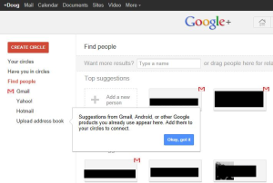 Google+ integration