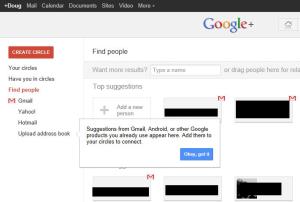 Google+ integration